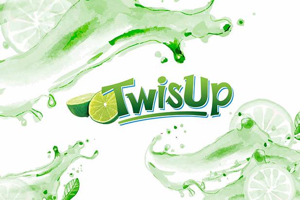 TwisUp - Brand Logo Design and Bottle Label Design