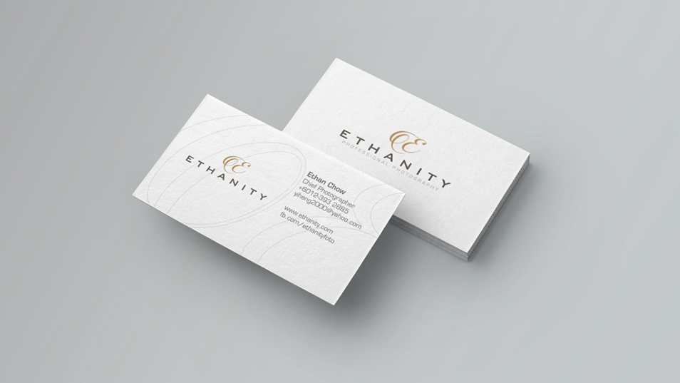 Ethanity Professional Photography - Branding Design