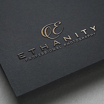Ethanity Professional Photography - Branding Design
