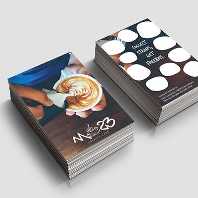 Market 23 - Poster Design,Royalty Card Design, Tabletop Design