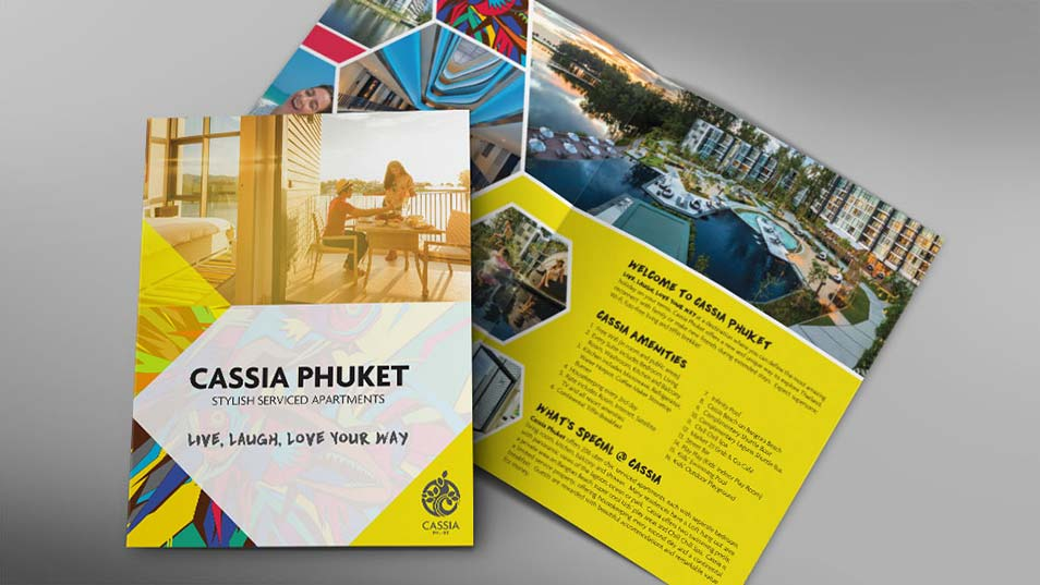 Cassia Phuket - Brochure Design, Poster Design, Billboard Design, Roll Up Banner Design