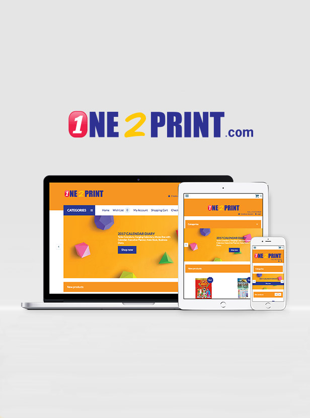 One Plus Stationary - e-Commerce Website Development