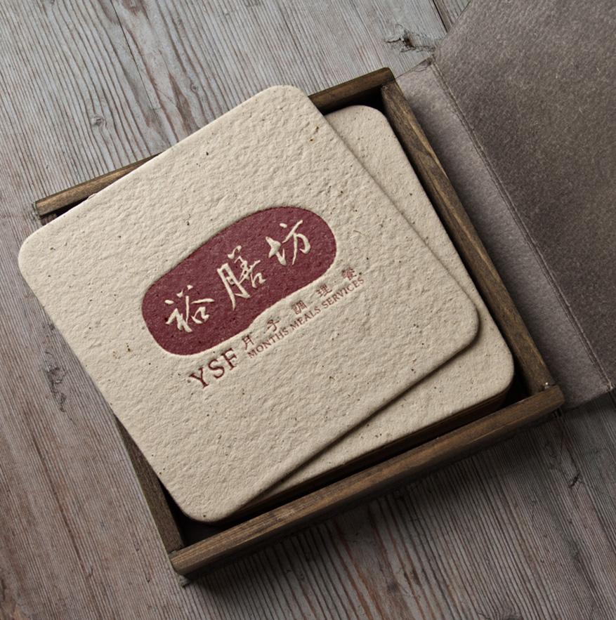 YSF Months Meals Services - Brand Logo Design, Poster Design, Flyer Design and Business Card Design