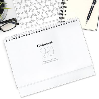 Oakwood Asia Pacific - Calendar Design