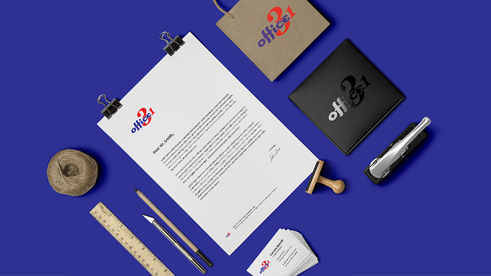 Office 31 - Brand Logo Design, Stationary Set Design