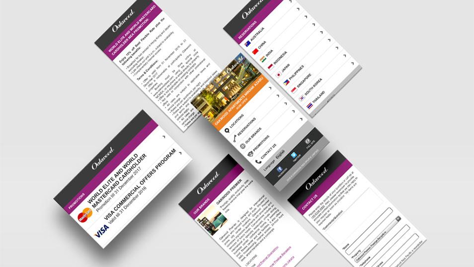 Oakwood Asia Pacific - Responsive Website Development