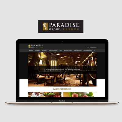 Pradise Group - Responsive Website UI Design