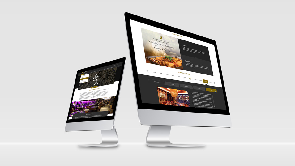 Pradise Group - Responsive Website UI Design