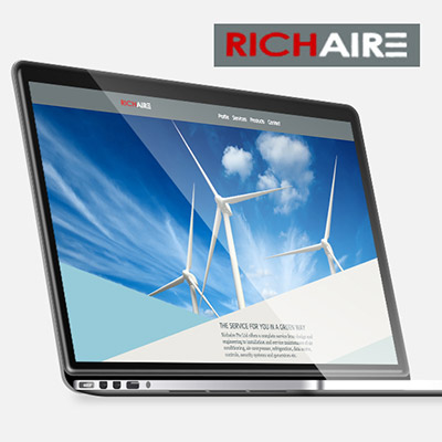 Richaire - Responsive Website Development