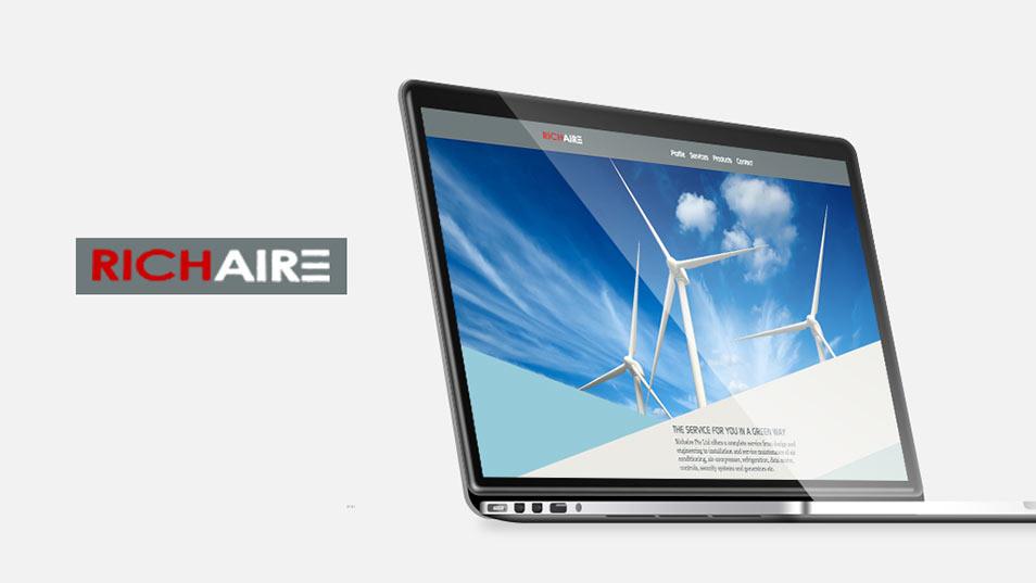 Richaire - Responsive Website Development