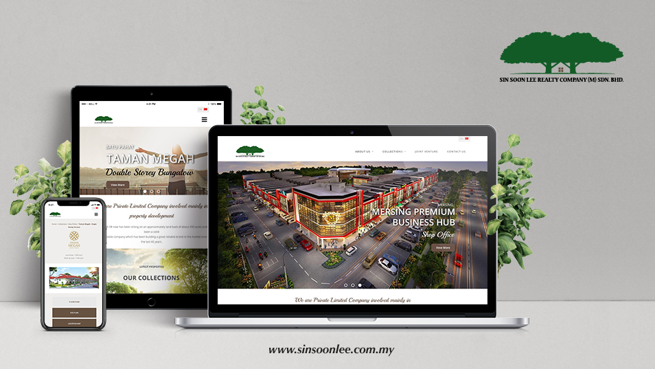 Sin Soon Lee - Responsive Website Design