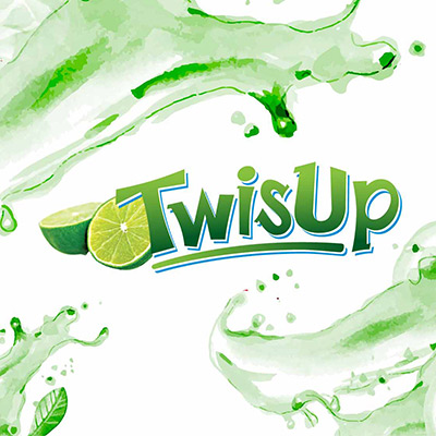 TwisUp - Brand Logo Design, Bottle Label Design