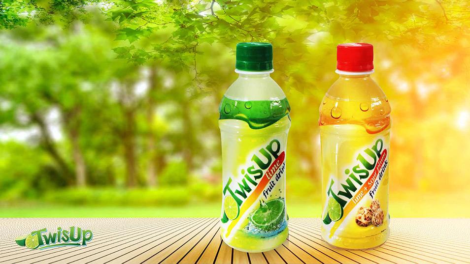 TwisUp - Brand Logo Design, Bottle Label Design
