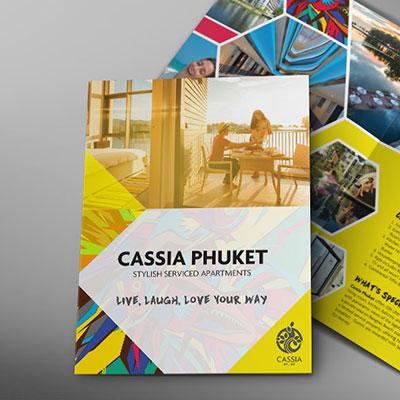 Cassia Phuket - Brochure Design, Poster Design, Billboard Design, Roll Up Banner Design