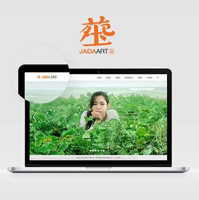 Jada Art Gallery - Responsive Website Development