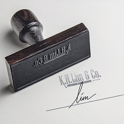 K. H. Lim & Co. - Brand Logo Design, Stationary Design