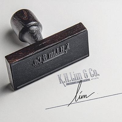 K. H. Lim & Co. - Brand Logo Design, Stationary Design