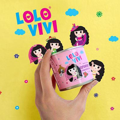 Lolo Vivi Milk Range - Brand Logo Design, Packaging Design, Mascot Design
