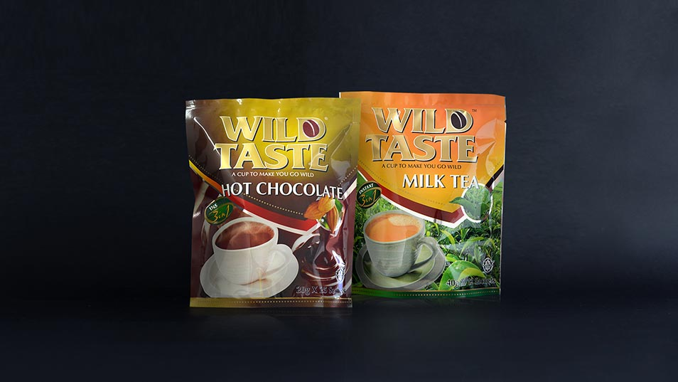 Wild Taste 3in1 Instant Drink - Packaging Design