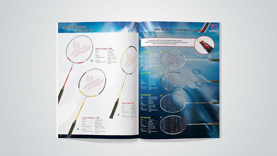 Yang Yang - Shuttlecock Tube Design, Shoe Box Design, Product Catalog Design