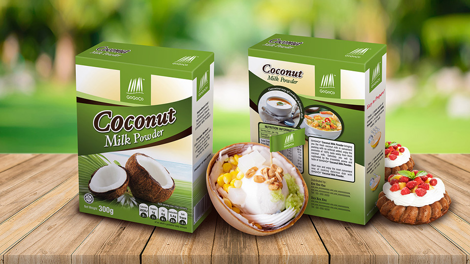 GoGoCo - Packaging Design, Poster Design