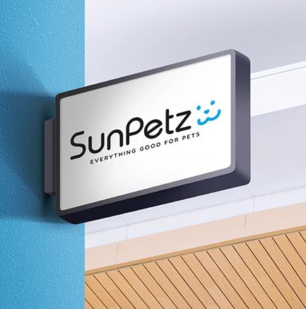 SunPetz - Brand Logo Design, Business Card Design