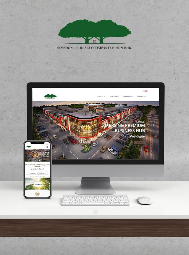 Sin Soon Lee - Responsive Website