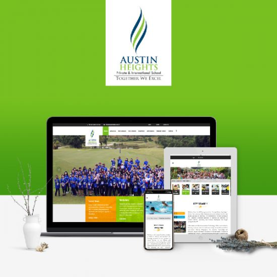 Austin Heights International School - Responsive Website Development