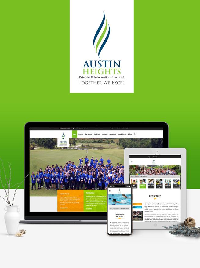 Austin Heights International School - Responsive Website Development