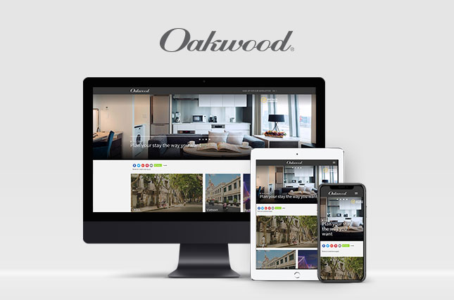 Oakwood Asia Pacific Summer Campaign - Responsive Website Development